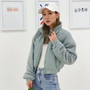 UO cropped jacket